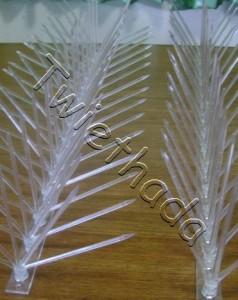 หนามป้องกันนก ชนิดพลาสติก โพลีคาร์บอร์เนต (Polycarbonate Spike)